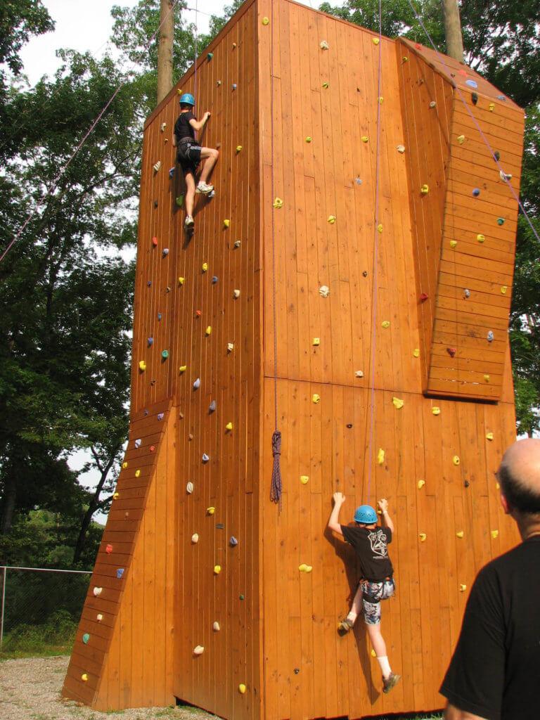 Hathorn Heights Climbing Wall