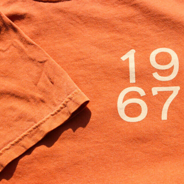 Orange Camp T-Shirt: $20